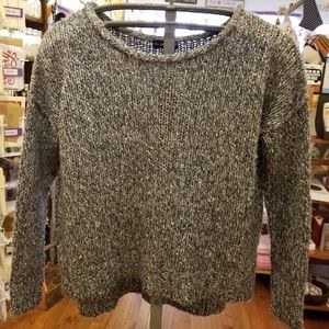 🍁 Zara Mohair Grey Sweater